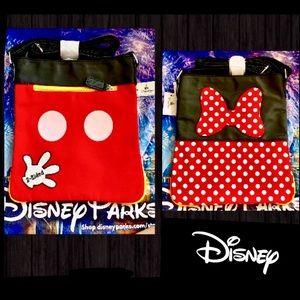Disney 2 Sided Mickey & Minnie Crossbody Bag